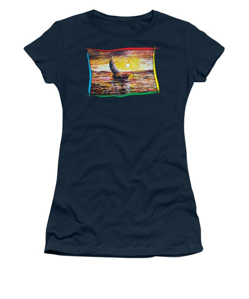 Island Sunset Women's T-Shirt