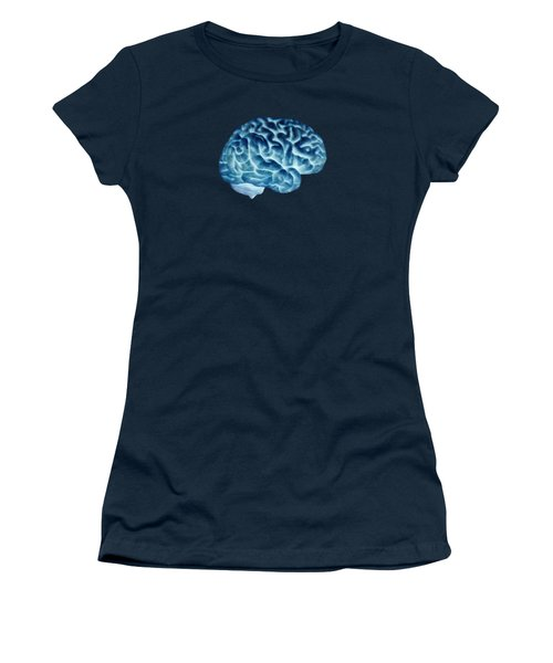Isolated Brain Women's T-Shirt (Athletic Fit)