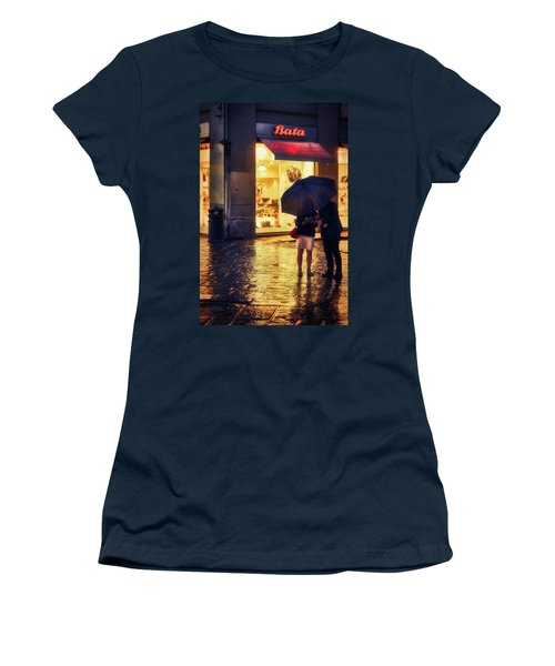It Is Raining In Firenze Women's T-Shirt