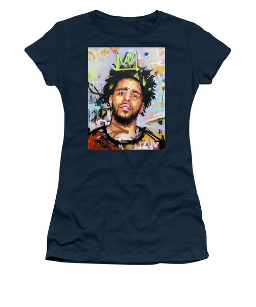 J Cole Women's T-Shirt (Athletic Fit)