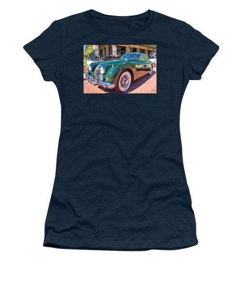 Women's T-Shirt featuring the photograph Jaguar Xk Classic by Dan McManus