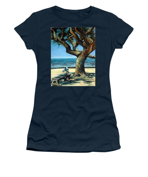January Afternoon Women's T-Shirt (Junior Cut) by Suzanne McKee