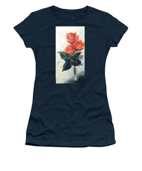 Jeannie's Roses Women's T-Shirt (Athletic Fit)