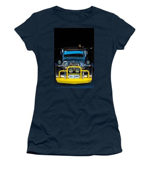 Jeepney, Manila Women's T-Shirt (Athletic Fit)