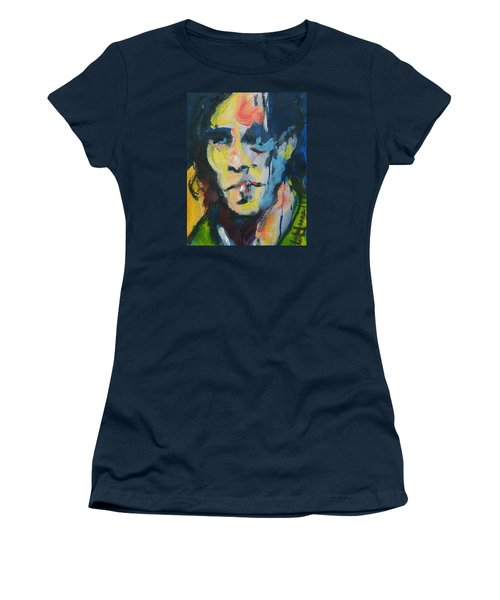 Johnny Women's T-Shirt (Junior Cut) by Les Leffingwell