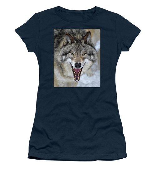 Women's T-Shirt (Junior Cut) featuring the photograph Joker by Tony Beck