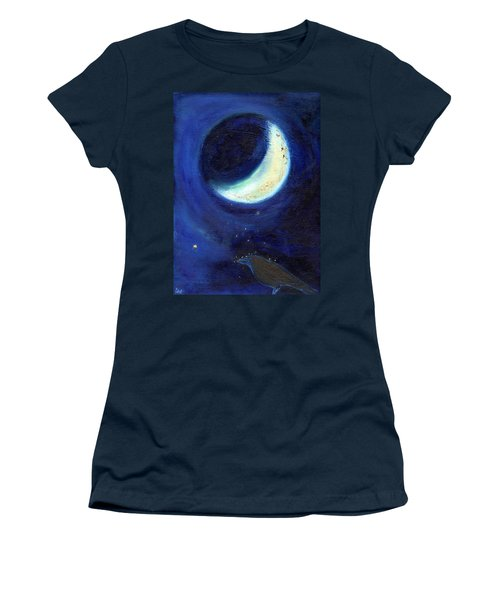 July Moon Women's T-Shirt (Junior Cut)