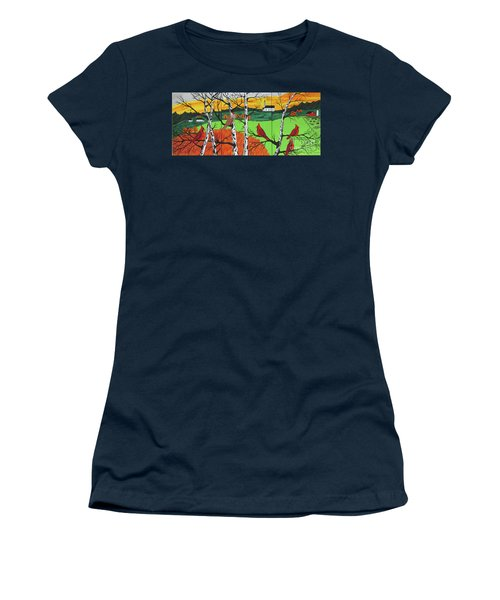 Just A Beautiful Day Women's T-Shirt (Athletic Fit)