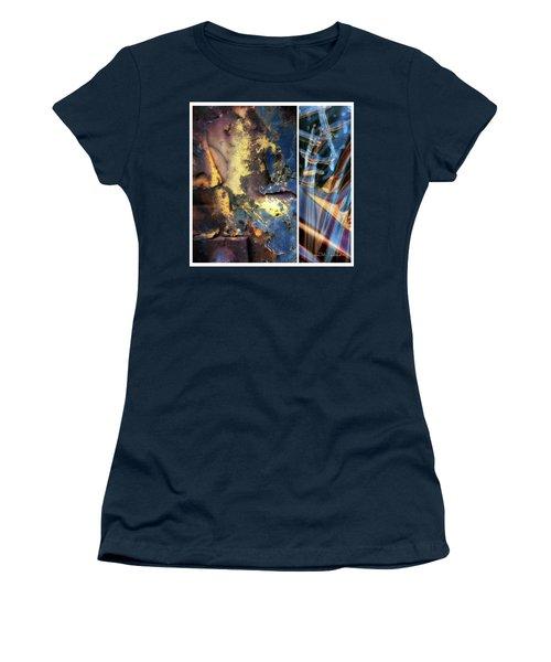 Juxtae #71 Women's T-Shirt (Junior Cut) by Joan Ladendorf