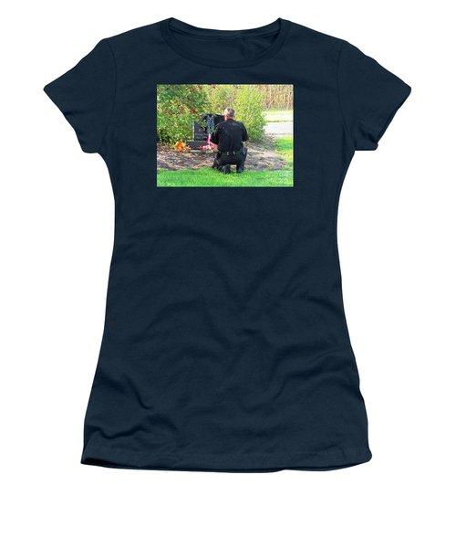 K-9 Arthur Women's T-Shirt (Athletic Fit)