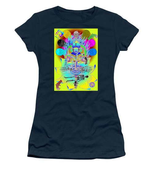 Kali Yuga Women's T-Shirt (Junior Cut) by Eric Edelman