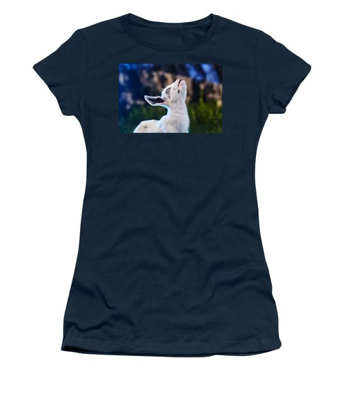 Women's T-Shirt (Junior Cut) featuring the photograph Keep Calm And Hold Your Head Up by TC Morgan