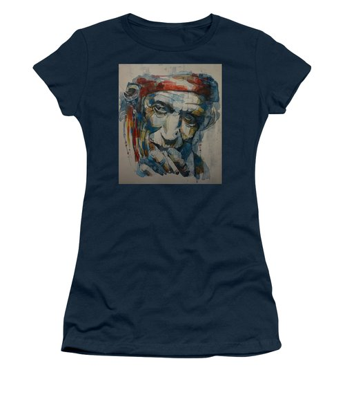 Keith Richards Art Women's T-Shirt