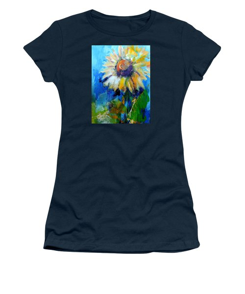 Kellie's Sunflower Women's T-Shirt (Junior Cut)