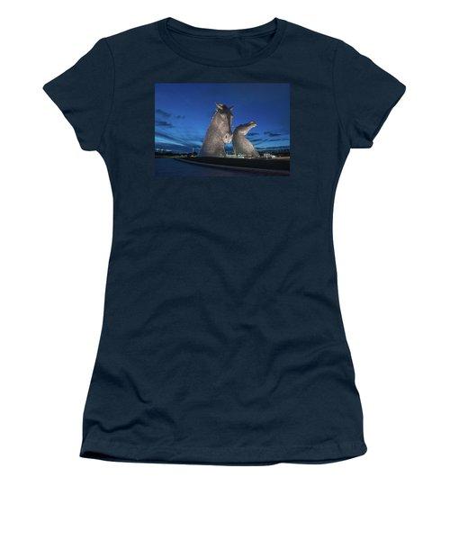 Kelpies  Women's T-Shirt (Athletic Fit)