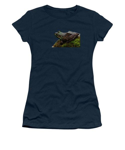 King Of The Rock Women's T-Shirt (Junior Cut) by Debbie Oppermann