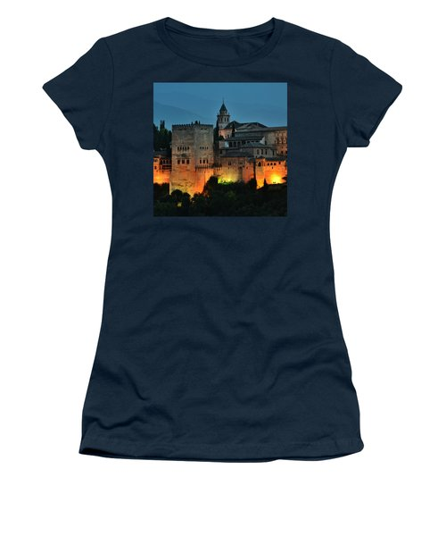 #laalhambra At Dusk - #ig_andalucia Women's T-Shirt