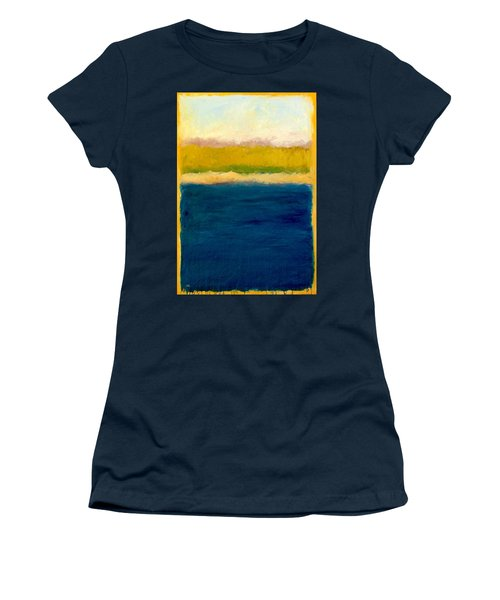 Lake Michigan Beach Abstracted Women's T-Shirt