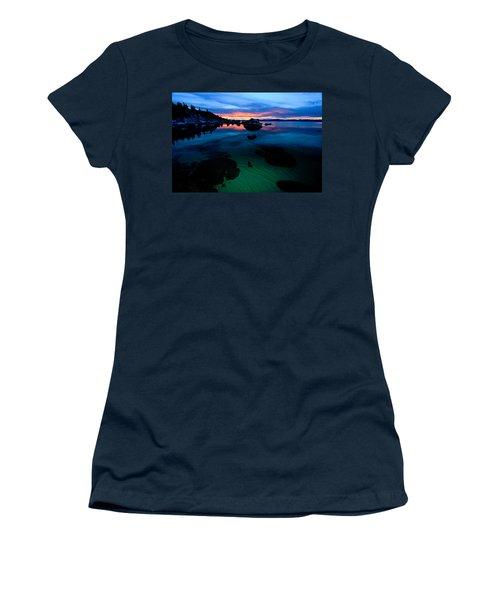 Lake Tahoe Clarity At Sundown Women's T-Shirt