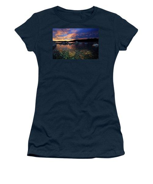 Lake Tahoe Sundown Women's T-Shirt