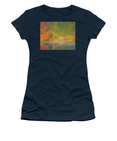 Langwater Pond Boathouse October 2015 Women's T-Shirt