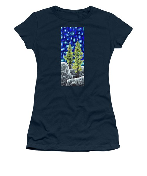 Larch Dreams 1 Women's T-Shirt (Junior Cut) by Rebecca Parker