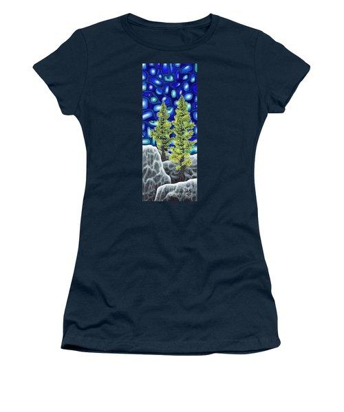 Larch Dreams 1 Women's T-Shirt (Athletic Fit)