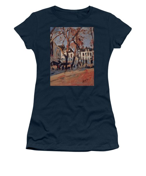 Last Sunbeams Our Lady Square Maastricht Women's T-Shirt (Junior Cut) by Nop Briex