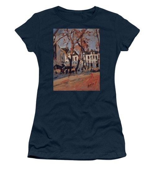 Last Sunbeams Our Lady Square Maastricht Women's T-Shirt (Junior Cut) by Nop Briex