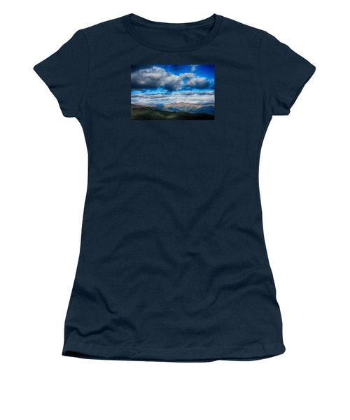 Layers Of Clouds On Mount Evans Women's T-Shirt