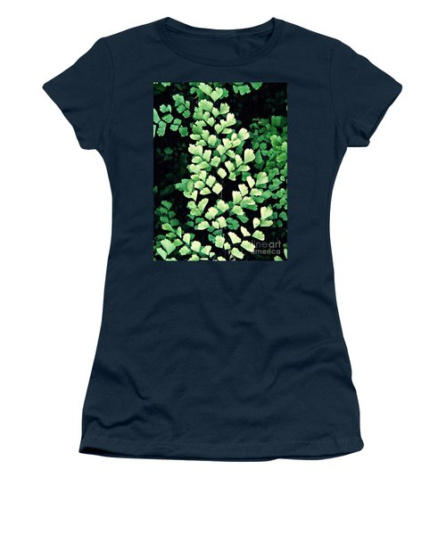 Leaf Abstract 15 Women's T-Shirt (Junior Cut) by Sarah Loft