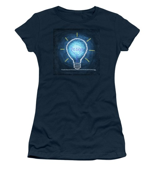 Light Bulb Design Women's T-Shirt