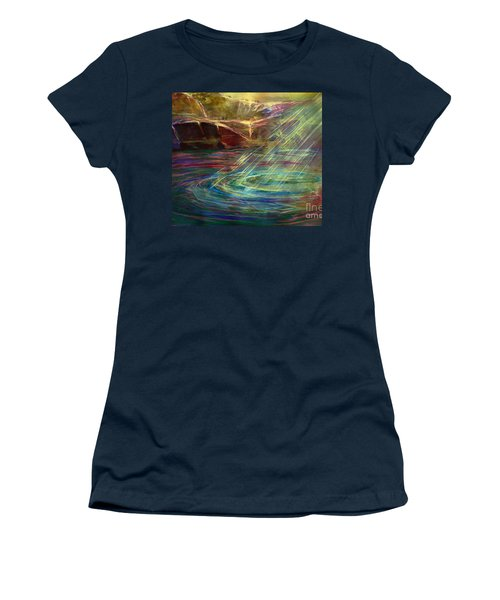 Light In Water Women's T-Shirt (Junior Cut) by Allison Ashton