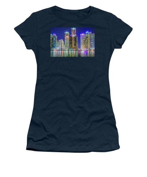 Light Pollution At Night Women's T-Shirt