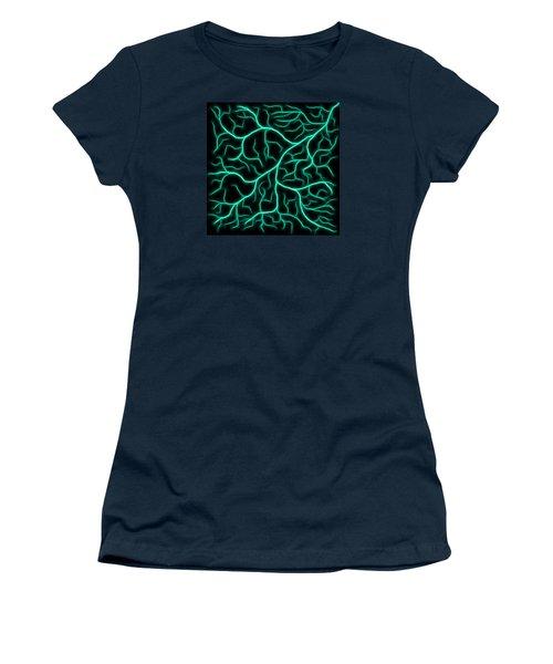 Lightning - Teal Women's T-Shirt