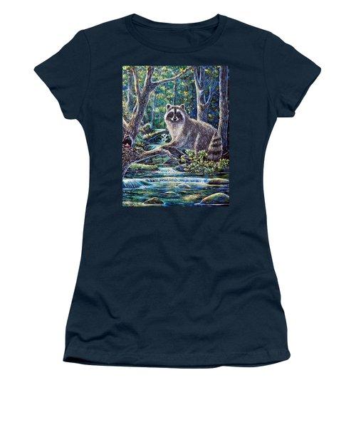 Little Bandit Women's T-Shirt (Junior Cut) by Gail Butler