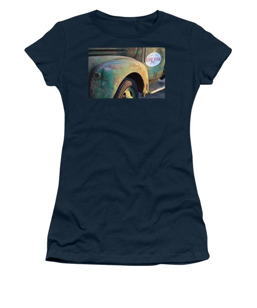 Women's T-Shirt (Junior Cut) featuring the photograph Lone Star Memories  by Carolina Liechtenstein
