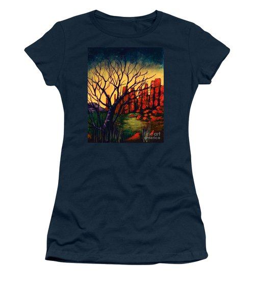 Lonesome Tree  Women's T-Shirt