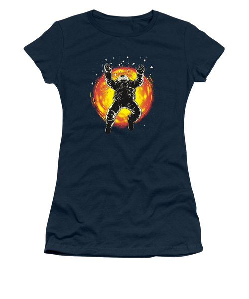 Lost In The Space Women's T-Shirt (Junior Cut) by Carbine