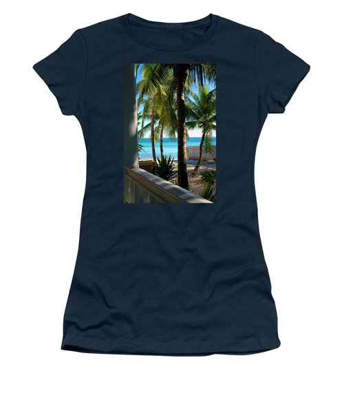 Louie's Backyard Women's T-Shirt (Athletic Fit)