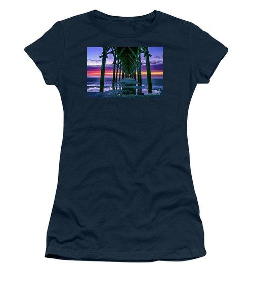 Low Tide Pier Women's T-Shirt