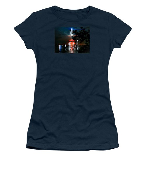 Lunar Event Horizon Women's T-Shirt (Athletic Fit)