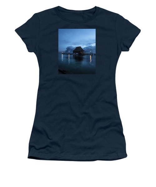 Magic Of A Night Women's T-Shirt (Junior Cut) by Yuri Santin
