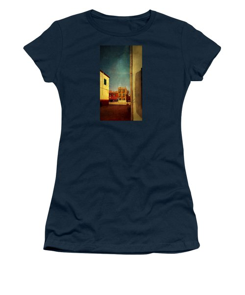 Women's T-Shirt (Junior Cut) featuring the photograph Malamocco Glimpse No1 by Anne Kotan