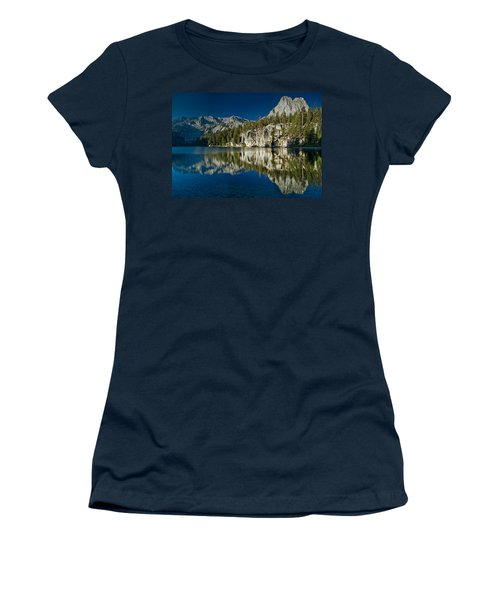 Mammoth Lakes Reflections Women's T-Shirt (Athletic Fit)