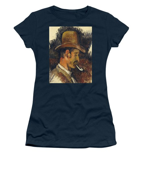 Man With Pipe Women's T-Shirt
