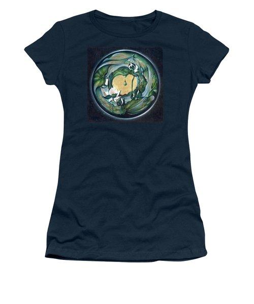 Mandala Of Regeneration Women's T-Shirt (Junior Cut) by Anna Ewa Miarczynska