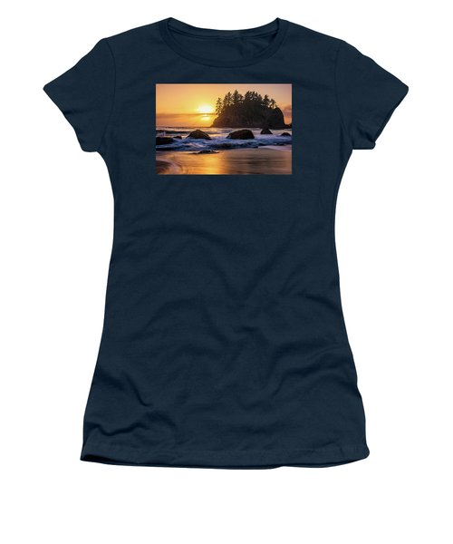 Marine Layer Sunset At Trinidad, California Women's T-Shirt