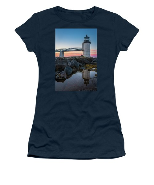 Marshall Point Reflection At Sunrise Women's T-Shirt