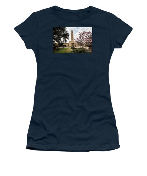 Memorial Tower - Lsu Women's T-Shirt (Junior Cut) by Scott Pellegrin